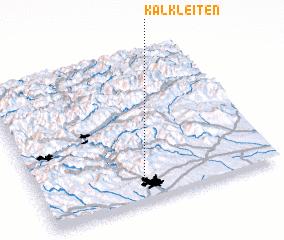 3d view of Kalkleiten