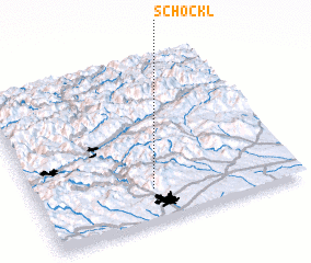 3d view of Schöckl
