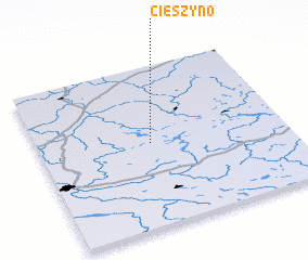 3d view of Cieszyno