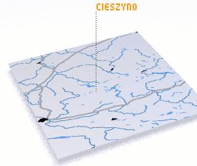 3d view of Cieszyno