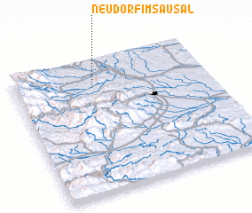 3d view of Neudorf im Sausal