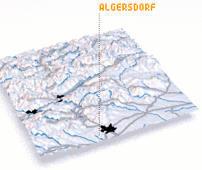 3d view of Algersdorf