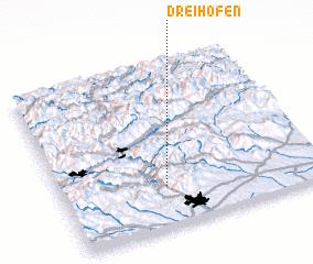 3d view of Dreihöfen