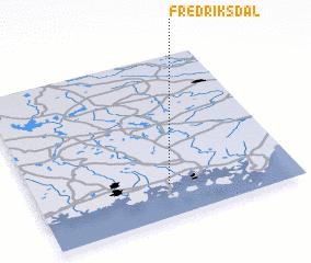 3d view of Fredriksdal