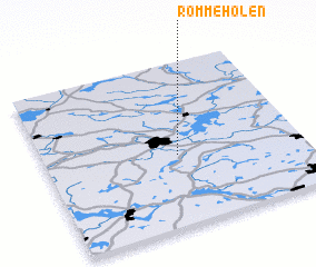 3d view of Rommeholen