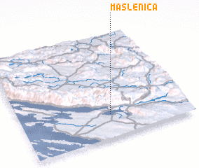 3d view of Maslenica
