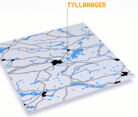 3d view of Tyllahagen