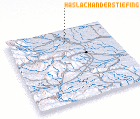 3d view of Haslach an der Stiefing