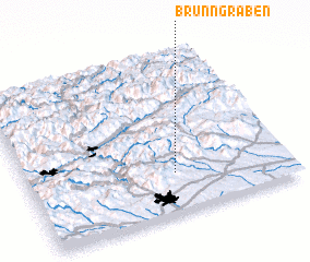 3d view of Brunngraben
