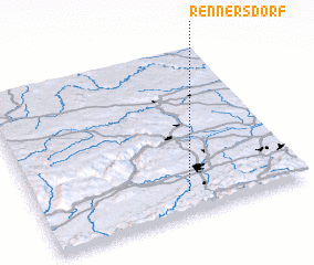 3d view of Rennersdorf
