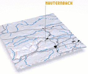 3d view of Mauternbach