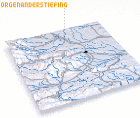 3d view of Sankt Georgen an der Stiefing