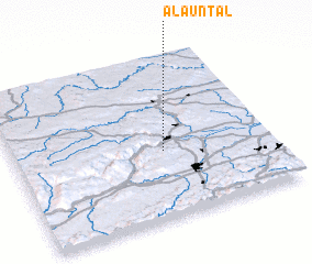 3d view of Alauntal