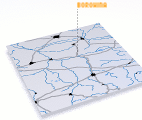 3d view of Borowina