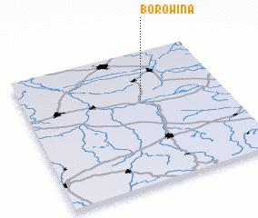 3d view of Borowina