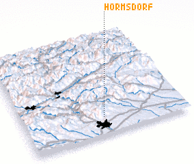 3d view of Hörmsdorf