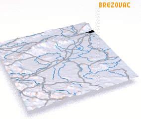 3d view of Brezovac
