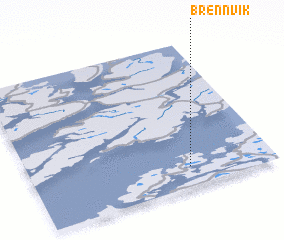 3d view of Brennvik