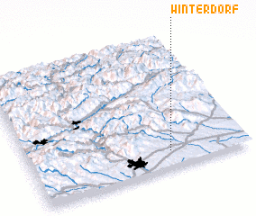 3d view of Winterdorf
