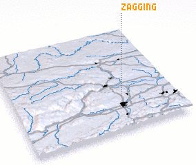 3d view of Zagging