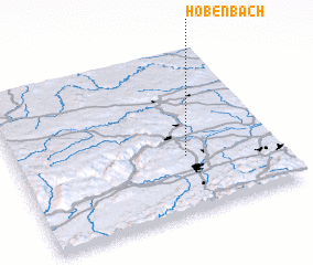 3d view of Höbenbach