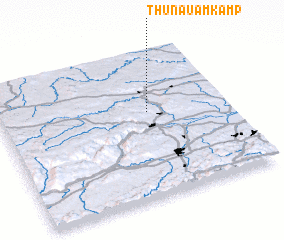 3d view of Thunau am Kamp
