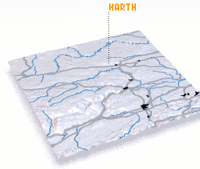 3d view of Harth
