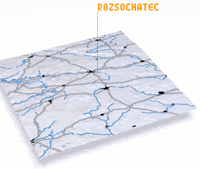 3d view of Rozsochatec