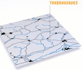 3d view of Třebnouševes