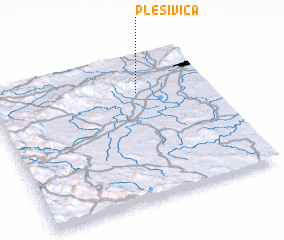 3d view of Plešivica