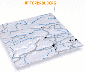 3d view of Unterradlberg