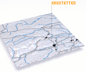3d view of Krustetten