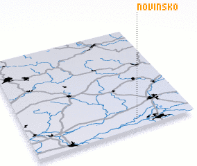 3d view of Novinsko