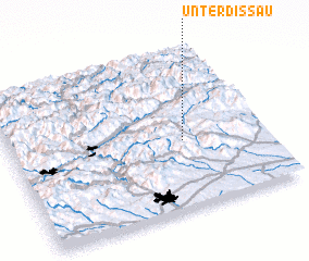 3d view of Unterdissau