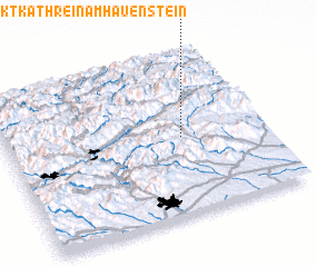 3d view of Sankt Kathrein am Hauenstein