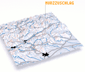 3d view of Mürzzuschlag