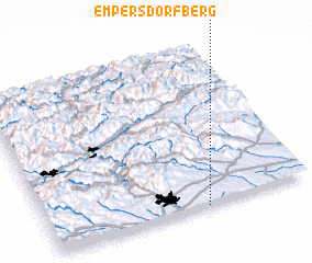 3d view of Empersdorfberg
