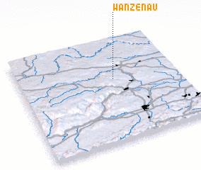 3d view of Wanzenau
