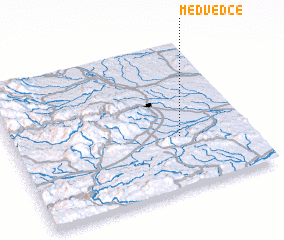 3d view of Medvedce