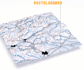3d view of Postelgraben