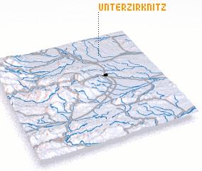 3d view of Unterzirknitz