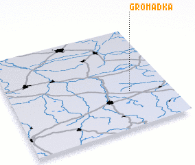 3d view of Gromadka