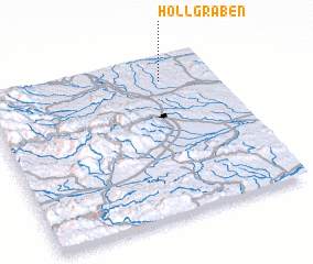 3d view of Höllgraben