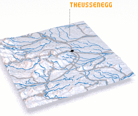 3d view of Theußenegg