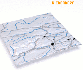 3d view of Wiedendorf