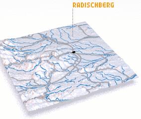 3d view of Radischberg