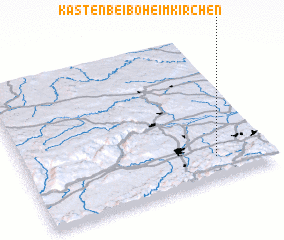 3d view of Kasten bei Böheimkirchen
