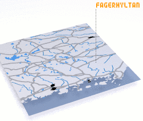 3d view of Fagerhyltan