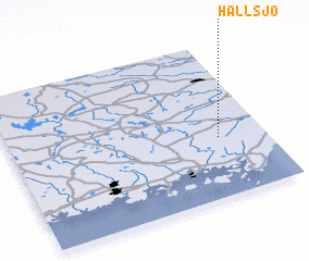 3d view of Hallsjö