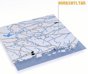 3d view of Hundshyltan